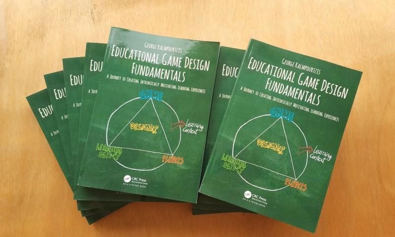 Educational game design fundamentals book