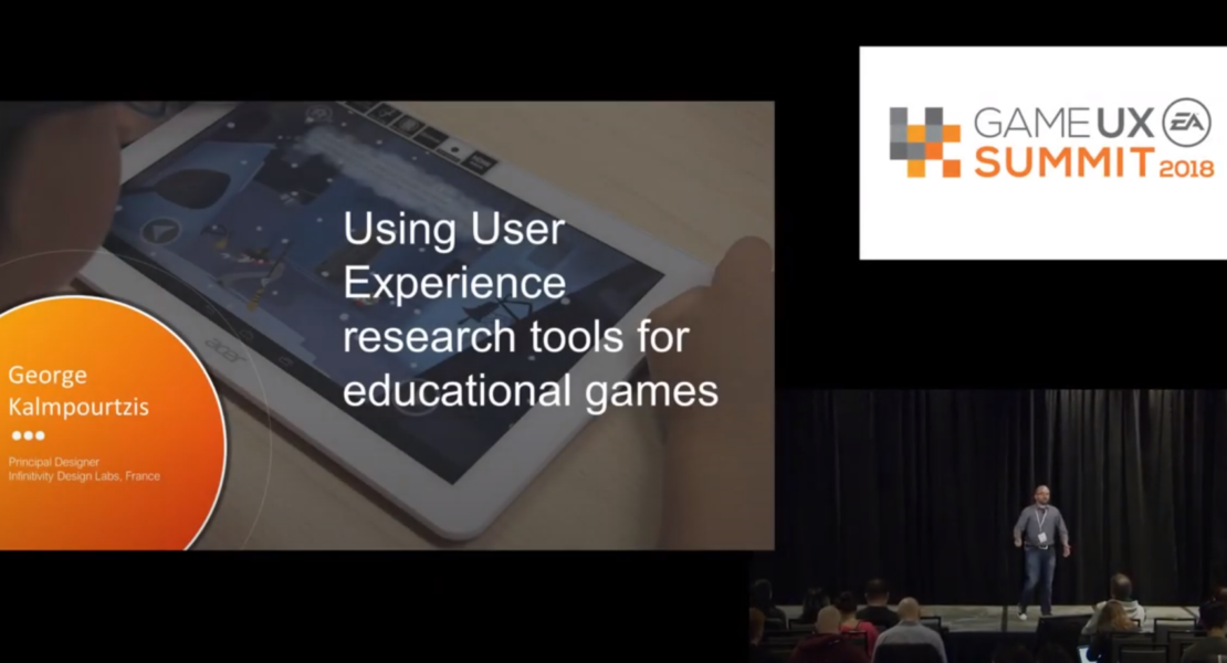 User Experience Research for Educational Games at the Game UX Summit