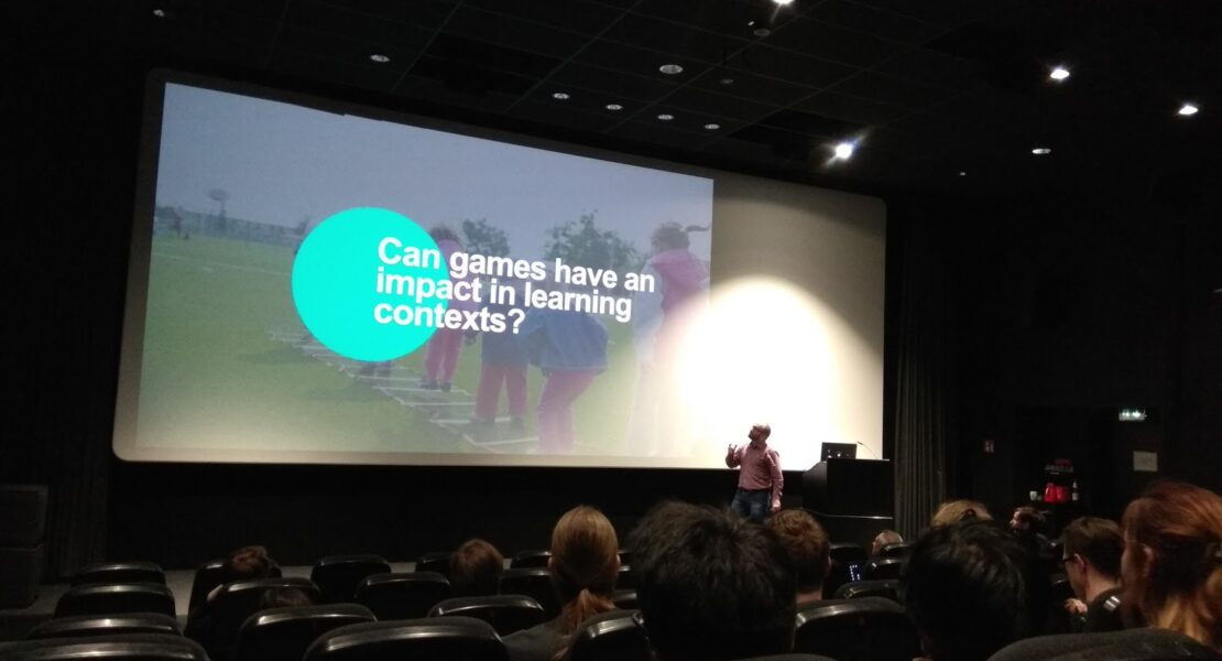 Lecture on learning experince and game design at the Cologne Game Lab